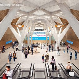 Town Hall Station (Concept), VIC